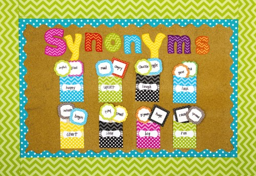 10 terrific ways to use library pockets teacher created tips for Decorative synonym