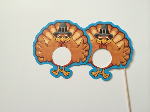 Turkey Glasses Photo Booth Prop