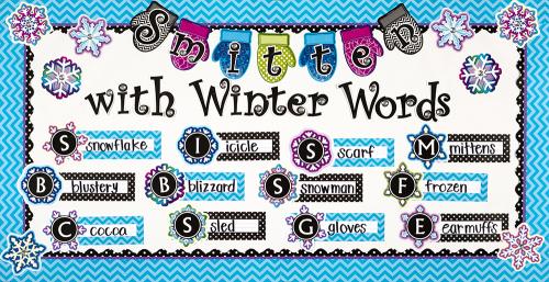 Smitten With Winter Words