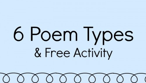 Poem Types & Free Activity from Teacher Created Resources