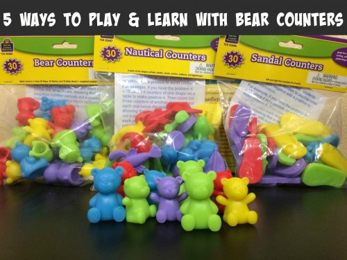 5 Ways to Play & Learn with Bear Counters
