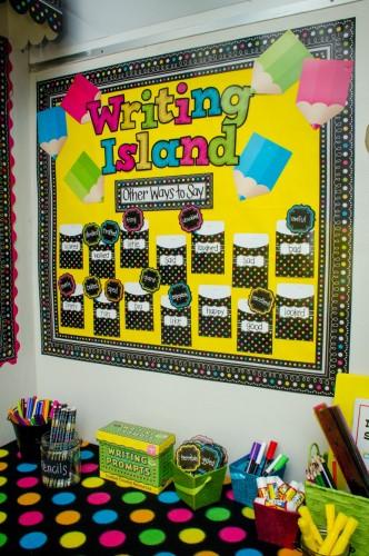 Writing Center Island
