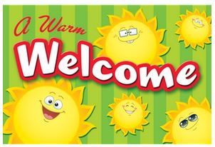 Happy Suns Postcard-Teacher Created Resources