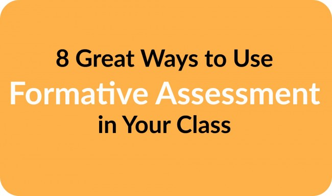 Formative Assessment from Teacher Created Resources