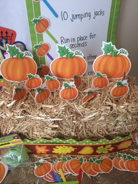 Teacher Created Resources Pumpkin Patch Brain Break