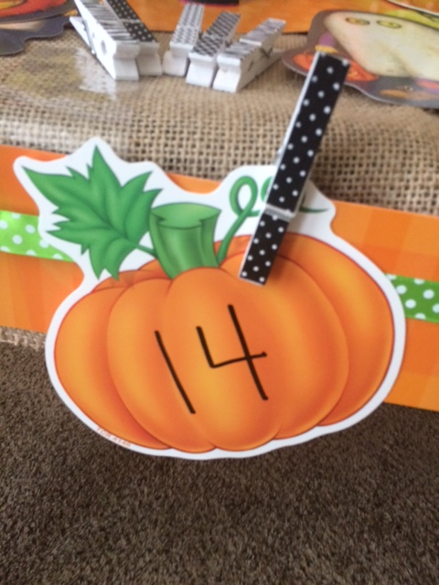 Teacher Created Resources Pumpkin Patch Math Game