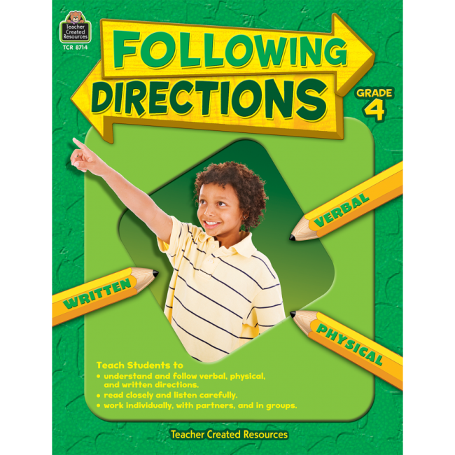 Following Directions Teacher Created Resources