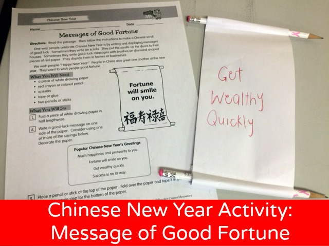 Chinese New Year Activity Teacher Created Resources