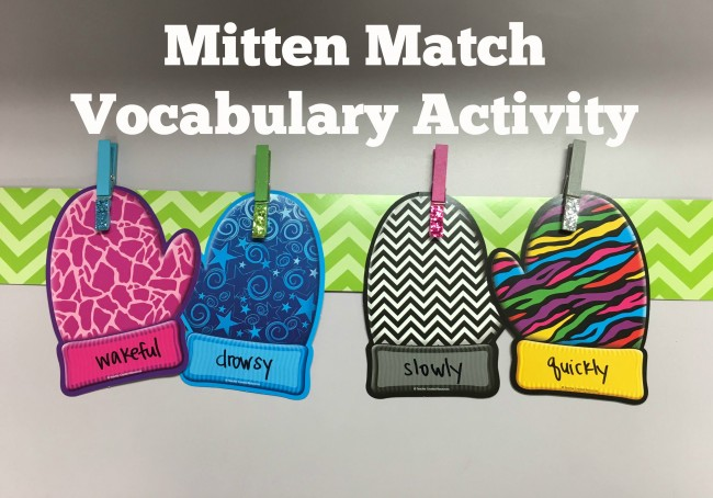 Teacher Created Resources Vocabulary Activity
