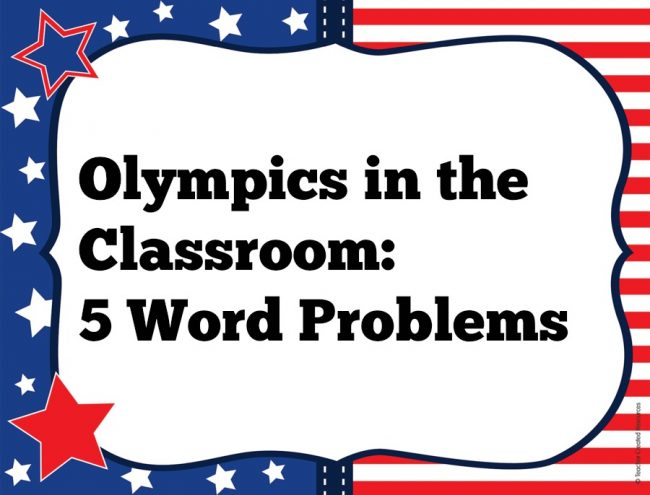 Olympics In the Classroom