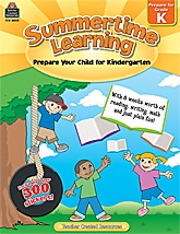 Summertime Learning Grade K