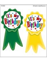 Happy Birthday Wear 'Em Badge