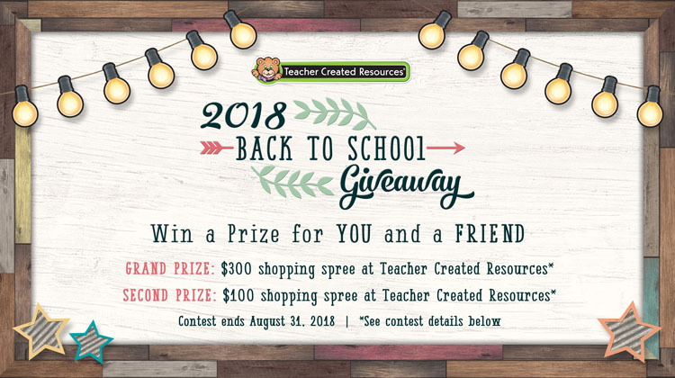 Giveaway back to school 2018