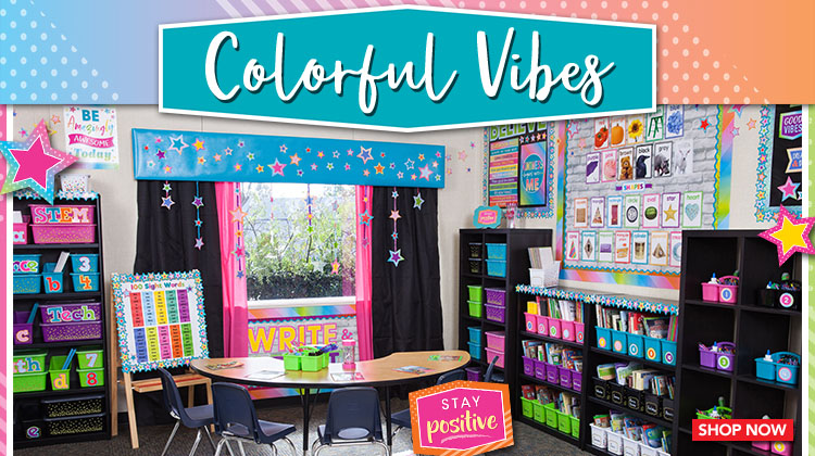 Colorful Vibes Classroom