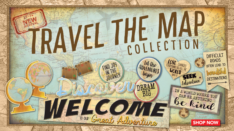 Travel the Map Collection