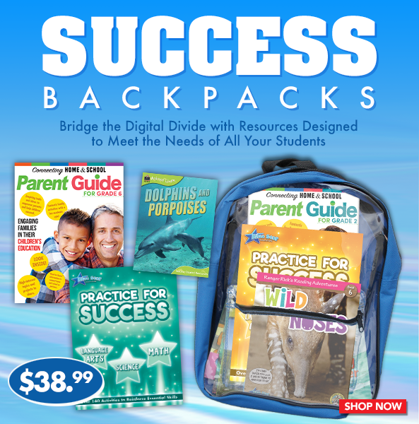 Practice for Success Backpacks