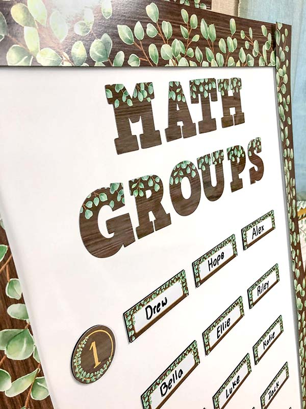 Eucalyptus Math Groups