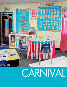 Carnival Classroom Decorations