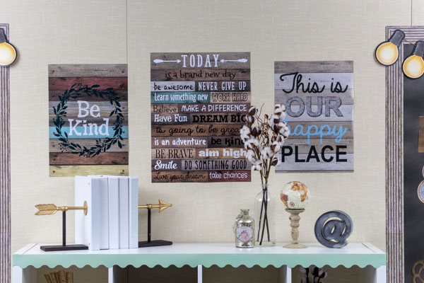 Home Sweet Classroom Positive Posters