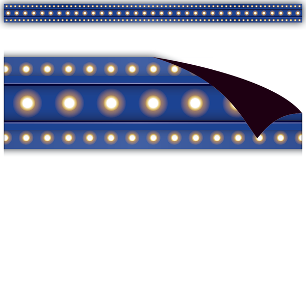 Dark Blue Marquee Magnetic Strips