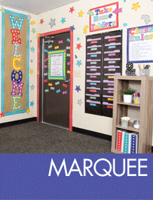 Marquee Classroom Decorations