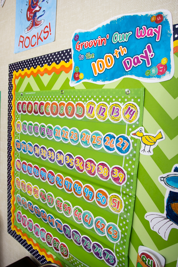100 Days Bulletin Board