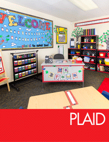 Plaid Classroom Decorations