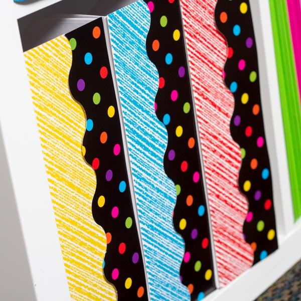 Scribble Decorated Binders