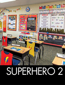 Superhero Classroom Decorations
