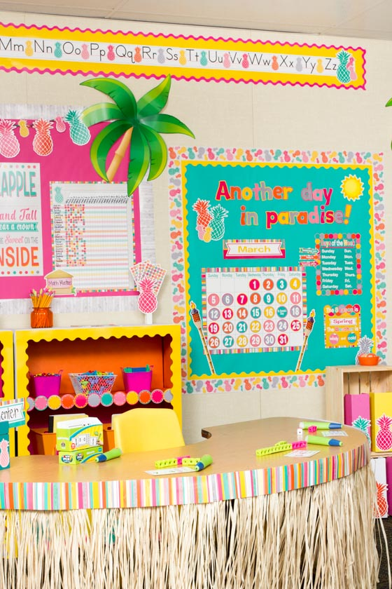 Free Classroom Decoration Resources : Tropical punch « classroom decorations teacher created
