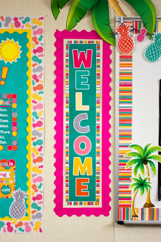 Free Classroom Decoration Resources ~ Tropical punch « classroom decorations teacher created