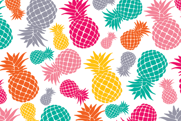 Pineapples Postcards