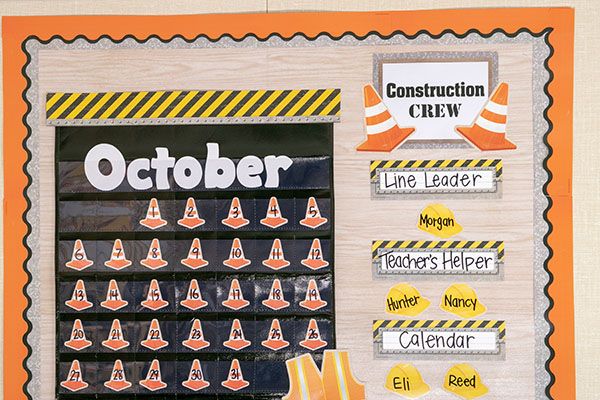 Construction Crew Board