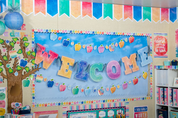 Welcome Bulletin Board Display Set