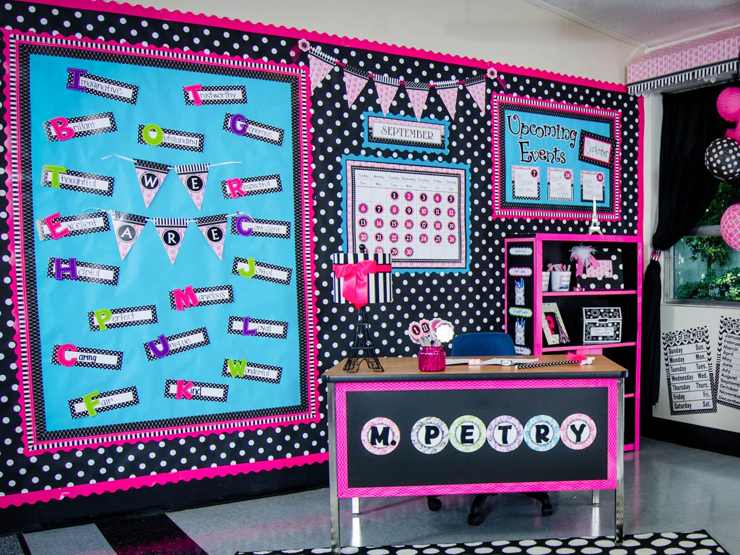 Parisian Classroom Decorations Teacher Created Resources