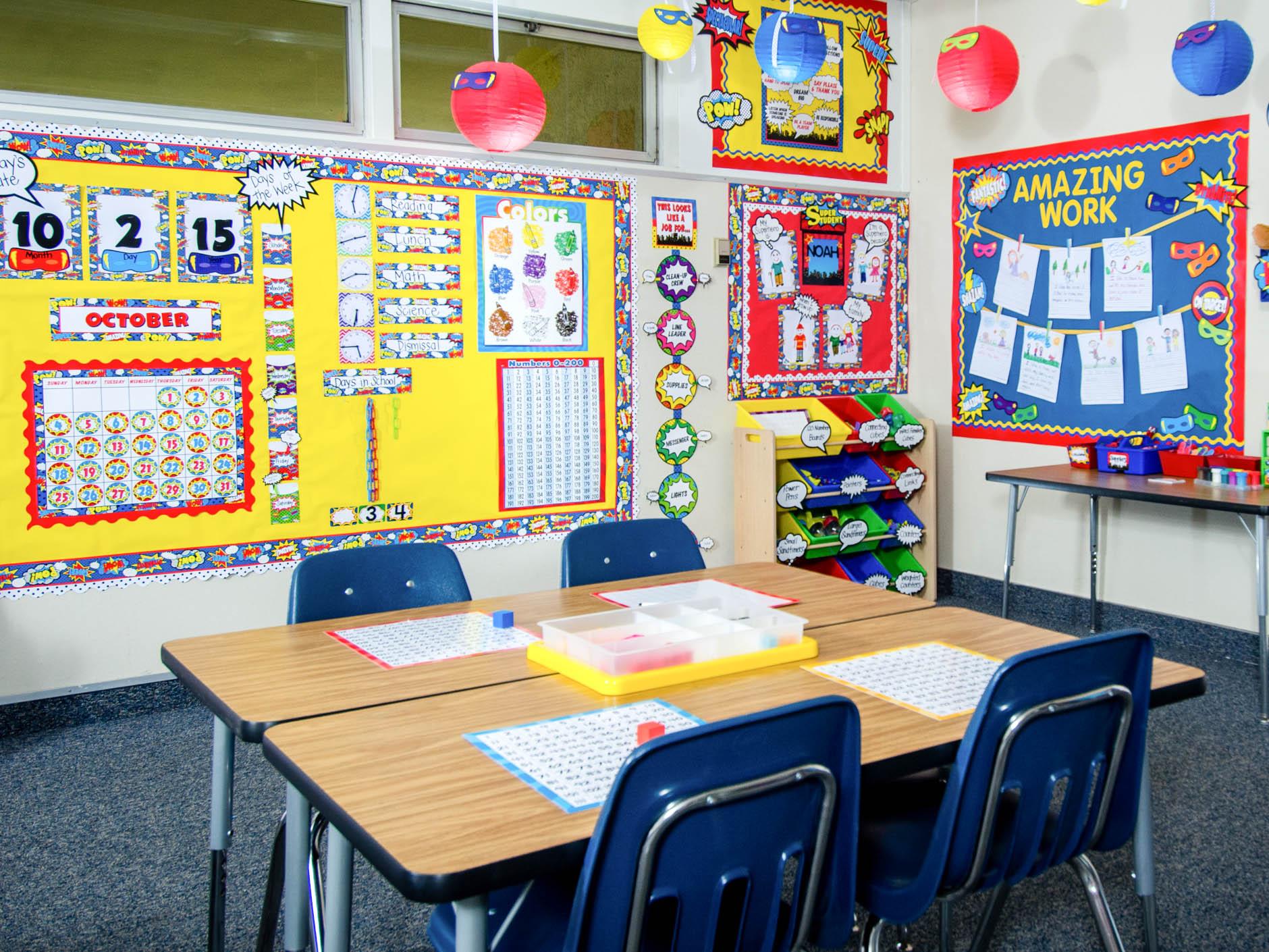 Superhero Classroom Decorations Teacher Created Resources