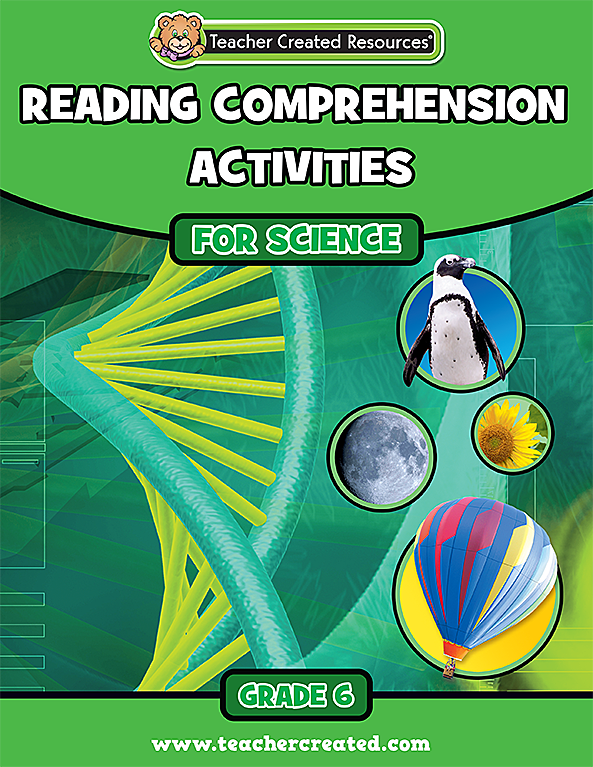 Reading Comprehension for Science Grade 6
