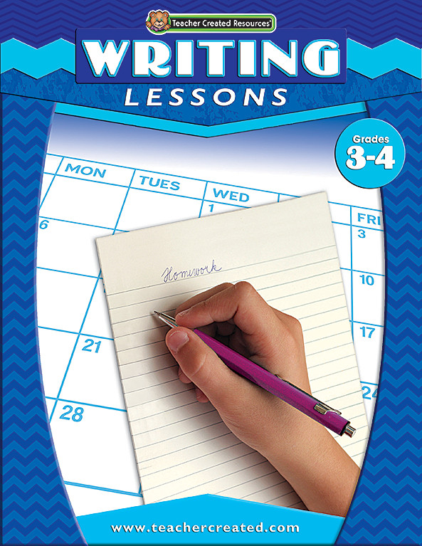 Writing Lessons Grades 3-4